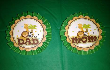 Mom & Dad Badges